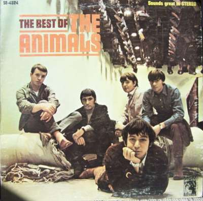 1987 The Best Of The Animals-400