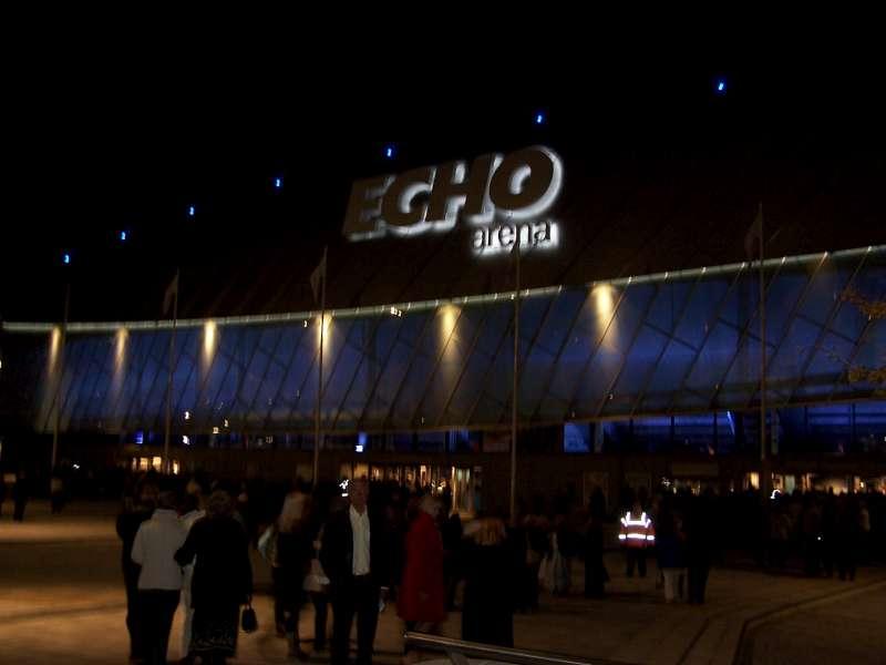 Concerto Liverpool Echo Arena 7 Ottobre 2009 1
