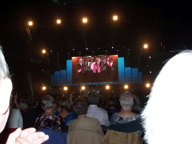 Concerto Liverpool Echo Arena 7 Ottobre 2009 3