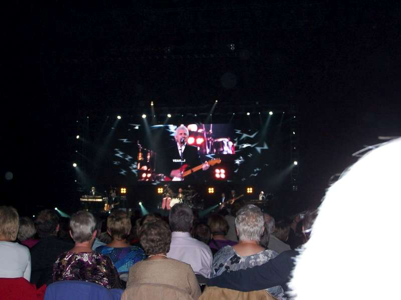 Concerto Liverpool Echo Arena 7 Ottobre 2009 6